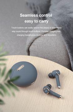 3D Stereo Sound Earphones TP1 TWS V5.0 Earbuds Best Noise Cancelling Earbuds, Best Wireless Earphones, Bluetooth, Headphones, How To Clean Earbuds, Skullcandy Earbuds, Beats Earbuds, High Tech Gadgets, Headset