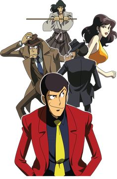 Lupin the Third : Episode 0 Old Anime, Anime Manga, Anime Art, Robot Cartoon, Cartoon Art, Guess The Anime, Lupin The Third, Kaito Kid, Popular Anime