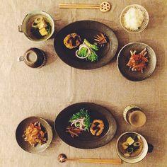 Oval Plate M (Black matt) オーバル皿M(黒マット) / Awabi ware | Iconosquare – Instagram webviewer