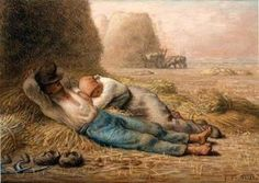 Jean-François Millet, La Méridienne (1866), Boston Museum of Fine Arts