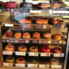 Doughnut Plant on Grand. The blackberry donuts are killer.