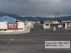 North Hills Mobile Home Park In Albuquerque NM Via MHVillage