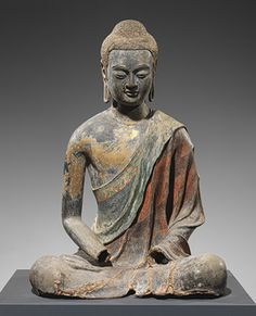 Buddha, probably Amitabha (Amituo) [China] (19.186)   Heilbrunn Timeline of Art History   The Metropolitan Museum of Art