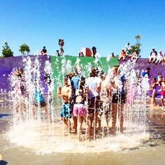 Sydney The Ultimate Outdoor Water Splash Park Macquarie Fields Leisure Centre Water Play