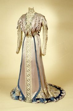 Opulent - how rich would you need to be to wear this dress? Dress  1900-1905  The Indianapolis Museum of Art