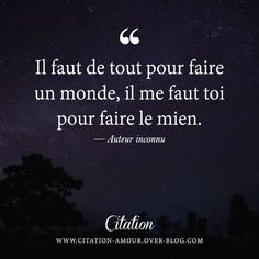 Quotation Amour : Découvrez les plus belles citations d'amour et phrases d… Citation Nature, Quote Citation, Words Quotes, Me Quotes, Sayings, Love Nature Quotes, Plus Belle Citation, French Quotes, Statements