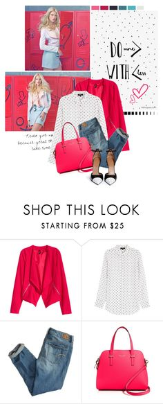 """""""Cherry"""" by somatramoroi ❤ liked on Polyvore featuring H&M, Theory, American Eagle Outfitters, Kate Spade and Givenchy"""