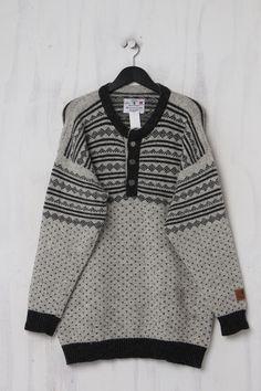 Second Hand Norweger Pullover aus reiner Schurwolle Trends, Two Hands, Men Sweater, Vintage, Sweaters, Fashion, Moda, Fashion Styles, Men's Knits