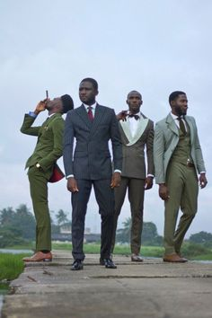Little-Known African Men's Brand sure makes a Dandy Suit You never know. Maybe one day we'll see Taryor Gabriels as the most talked about new brand of men's Paris fashion week.African African(s) may refer to: . Dapper Suits, Dapper Men, Mens Suits, Black Dandy, Men In Black, Black Man In Suit, Sharp Dressed Man, Well Dressed Men, African Men