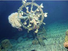 Navio é encontrado depois de 60 anos.