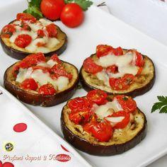 Melanzane al cartoccio pomodorini e scamorza