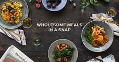 Munchery - Order wholesome prepared dinners, handmade by top local chefs using only the best ingredients, for same-day delivery to your home or office. Meal Delivery Service, Delivery Food, Delivery App, Gourmet Recipes, Healthy Recipes, Gourmet Meals, Healthy Meals Delivered, Home Meals, Food Preparation