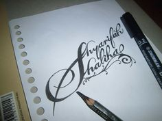 typography Shyarifah s shaliha