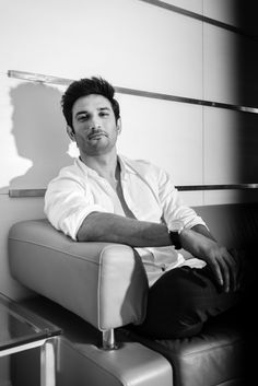 Bollywood actor Sushant Singh Rajput during an interview on May 25 2018 in New Delhi India Cute Actors, Handsome Actors, Bollywood Celebrities, Bollywood Actress, Allu Arjun Images, Randeep Hooda, Yash Raj Films, Sushant Singh, Photography Poses For Men