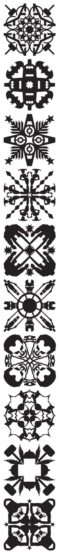 Free Superhero Snowflake Patterns!! Marvel & DC