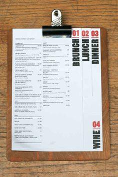 20 Impressive Restaurant Menu Designs - UltraLinx