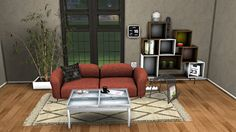 Sims 4 CC's - The Best: Cloud Living Set by Leo4Sims