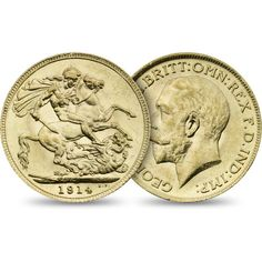 A fitting tribute to all who served on the front line during the events of The Royal Mint Sovereign 1914 is a historic coin to treasure. Rare British Coins, Gold And Silver Coins, First World, Shop, Store