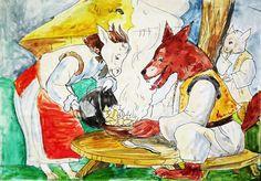 . Winter Games, Childhood Memories, Walt Disney, Illustrators, Rooster, Horror, Wall Art, Romania, Children