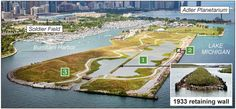 Features of the new park at Northerly Island Chicago Tribune, Chicago Illinois, Soldier Field, Real Estate Development, Commercial Real Estate, Michigan, River, Island, Park