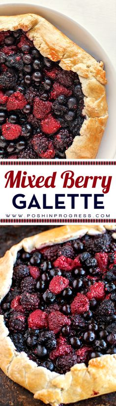 This may be the easiest berry pie recipe I've ever made.