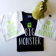 Father & Child Monster T-shirts