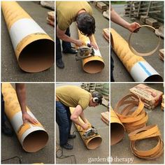 Concrete Stepping Stones How to Cut Cement Forms