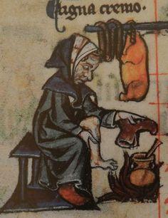 Dona escalfant-se una sabata i un peu