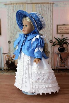 Regency Spencer Jacket  and Bonnet with the white dress for Caroline by BabiesArtUs