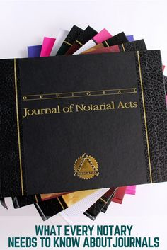 You know it's important to keep accurate records of all notarial acts. But do you have all the details about keeping a Notary journal?