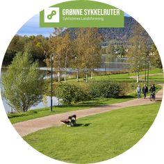 En svært attraktiv og lettsyklet rute tett på Drammenelva. Store grøntområder, brygger, skulpturer, marinaer, rasteplasser og lekeplasser langs turveien. Svært familievennlig. Kan lett kombineres... Golf Courses, Activities, Sculpture