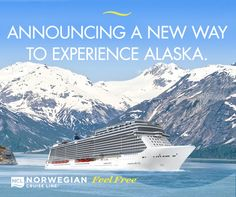 Announcing a New Way to Experience Alaska! Norwegian Cruise Line is thrilled to announce newest ship Norwegian Bliss sail for Alaska from Seattle in June 2018.  Home port in Seattle at Pier 66 - weekly 7 Day sailings