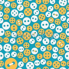 Sweet Buttons by Viktoryia Yakubouskaya available as a vector file on patterndesigns.com Starter Set, Vector File, Polka Dots, Buttons, Sweet, Pattern, Cotton Fabric, Fabrics, Handarbeit