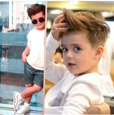 Black Toddler Boy Haircuts 2017 - Women naturally understand that their hairdo helps specify their personality as well as th Toddler Boy Haircuts, Toddler Boys, Baby Boy Fashion, Kids Fashion, Little Boy Hairstyles, Boys Clothes Style, My Bebe, Kids Cuts, First Haircut