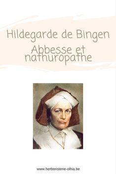 Hildegarde de Bingen est une religieuse allemande du 12 ème siècle (1098-1179). Bien qu'elle ne fût jamais élevée au rang de sainte, elle est considérée comme telle par beaucoup.
