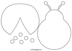 Related coloring pagesFree ladybug coloring pageLadybugLadybugsLadybugs coloring pageLadybug Outline ClipartHappy ladybug smiling coloring page black and whiteRed Ladybug cartoon smilingLadybug On Flower Template Cake IdeasVector Flower LadyBug Design Felt Crafts, Diy And Crafts, Crafts For Kids, Arts And Crafts, Paper Crafts, Felt Patterns, Applique Patterns, Sewing Patterns, Applique Templates