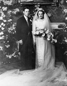 16th Duke of Norfolk/Hon Lavinia Strutt