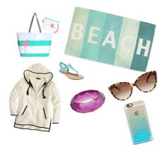 """""""On the beach"""" by crave-vintage ❤ liked on Polyvore"""