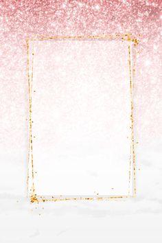 Pink Glitter Background, Gold Wallpaper Background, Rose Gold Wallpaper, Framed Wallpaper, Pink Wallpaper Iphone, Glitter Wallpaper, Cute Wallpaper Backgrounds, Background Patterns, Textured Background