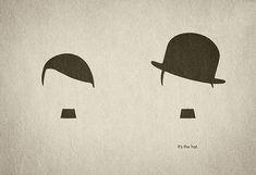 帽子ひとつで劇的に変わる。 (独裁者と喜劇王)