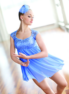 Add drama to your performance with lyrical & contemporary dresses from Dancewear Solutions.