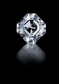 The Porter Rhodes Diamond. This 54.04-carat Asscher-cut gem is a D-color sparkler. It was discovered in Africa in 1880 and has been recut from its original old mine cut.