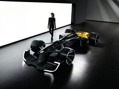 "Behold Renault's vision for the future of racing. At the Shanghai Motor Show, the car company unveiled its RS 2027 vision for Formula 1 with a greater focus on drivers, safety and hybrid technology. At the heart of this is Renault's ""more spectacular, more electric"" RS 2027 F1 concept.  Fitted with a transparent cockpit, active LED lighting in the wheels and moving aerodynamic parts such as the car's active wings, Renault wants to make the sport a more ""human-centric championship"".  F1's new…"