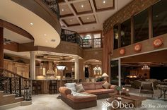 Check out our Luxurious Living Areas Board for more great living room decor ideas!