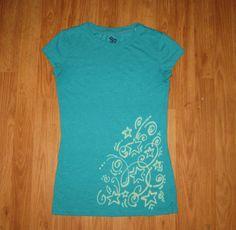 BLEach PEN Shirt WEARABLE art TeaL shirt star by heartChicago, $23.00  WWW.ETSY.COM/SHOP/HEARTCHICAGO