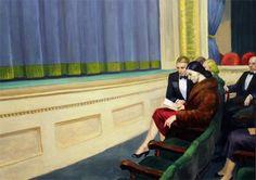 Edward Hopper http://insidemyhideaway.blogspot.com/2011/09/color-therapy.html