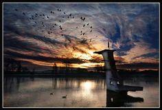 Coate Water, Swindon - Memories from childhood.