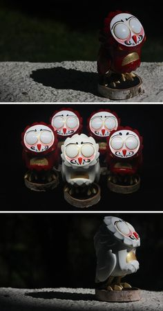 "Custom ""Daruma"" Omen micro-run from shinobistinks!!!"