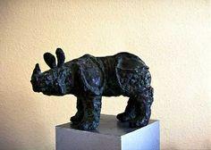 Rhino by Brigitte Wawoe, via Flickr