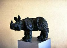 Rhino by Brigitte Wawoe, via Flickr